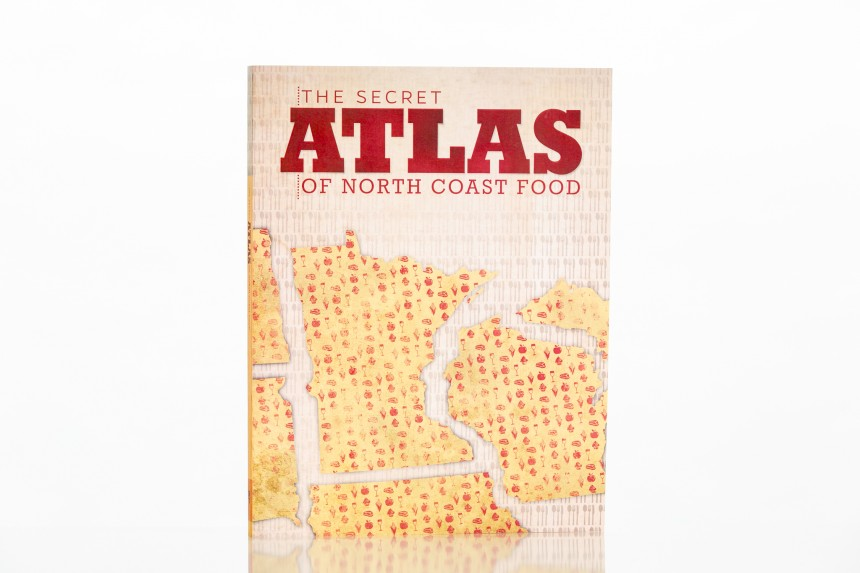 The Secret Atlas of North Coast Food uses color inserts to maximize production values while keeping production costs within target.