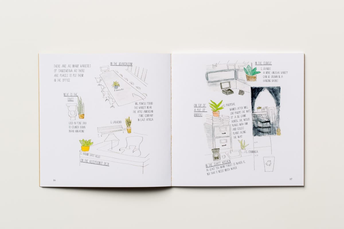 A Field Guide to Office Plants, Art Book Printing