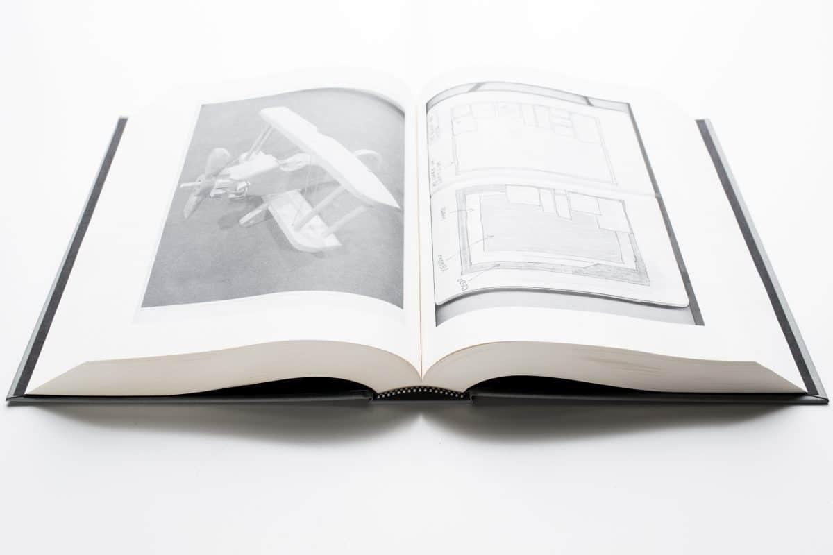hardcover art book printing