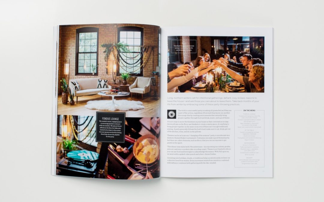 Hearten, Kickstarter Magazine Printing