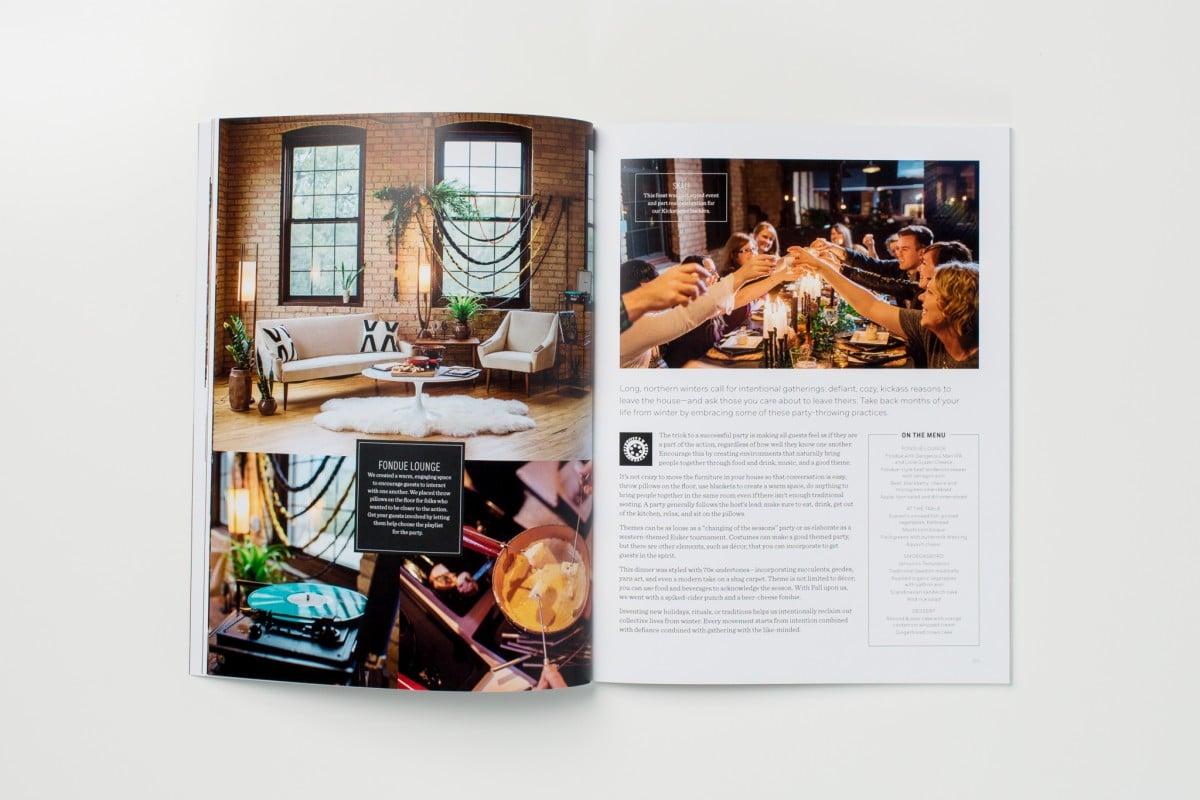 Kickstarter Magazine Printing