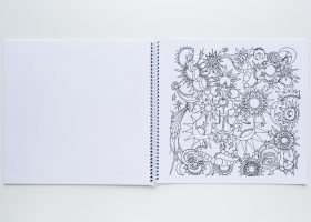 Spiral Binding Coloring Book