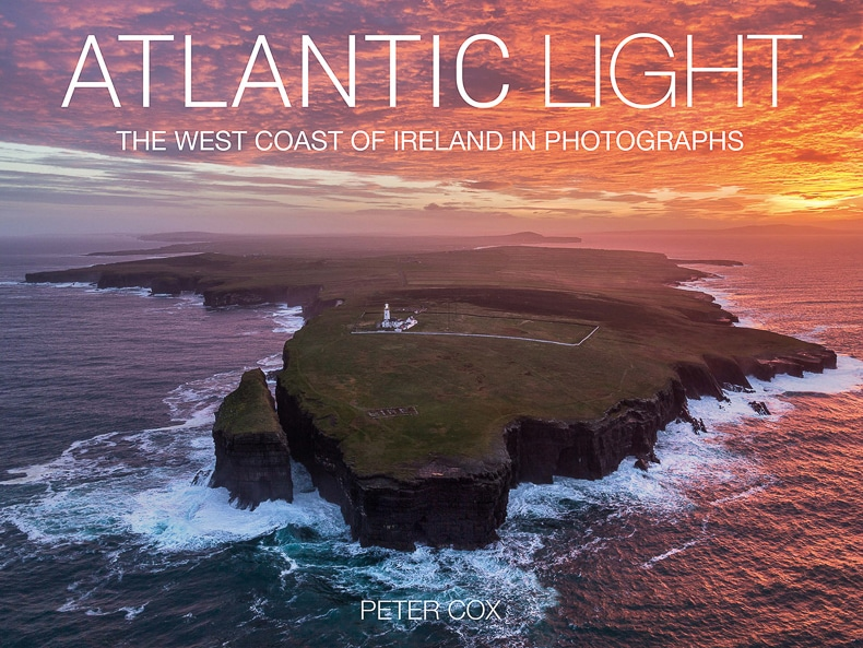 Cover of Atlantic Light photo book.