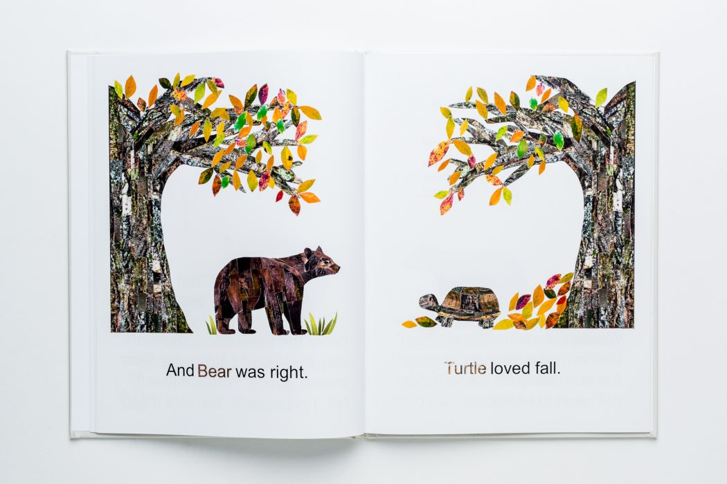 Turtle's First Winter, Children's Book Printing