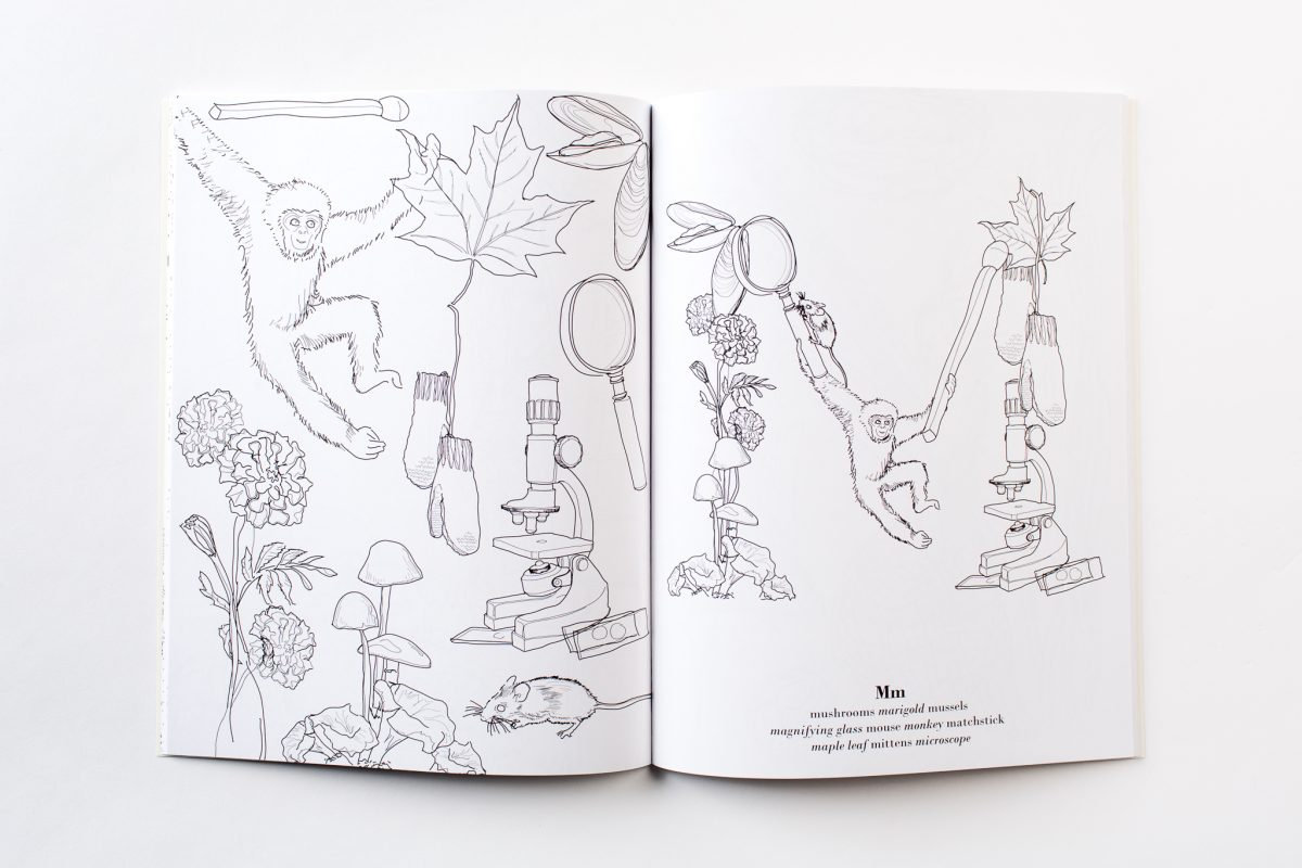 Print Your Own Coloring Book The Curious ABCs