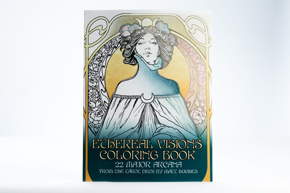 ethereal visions coloring book coloring book printing - Coloring Book Printing