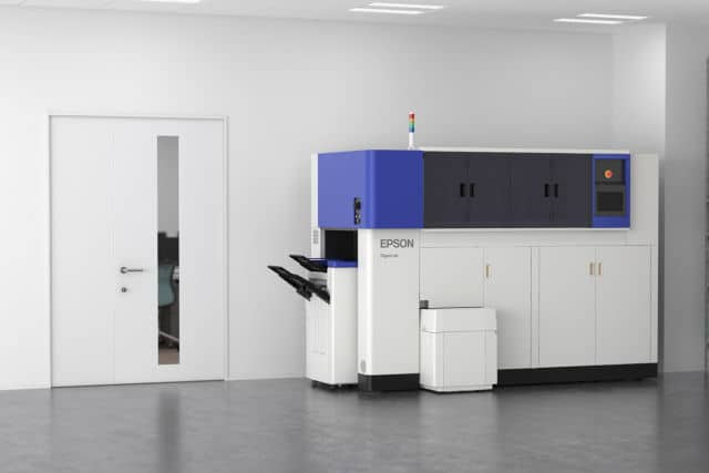 Epson PaperLab in-office papermaking machine.