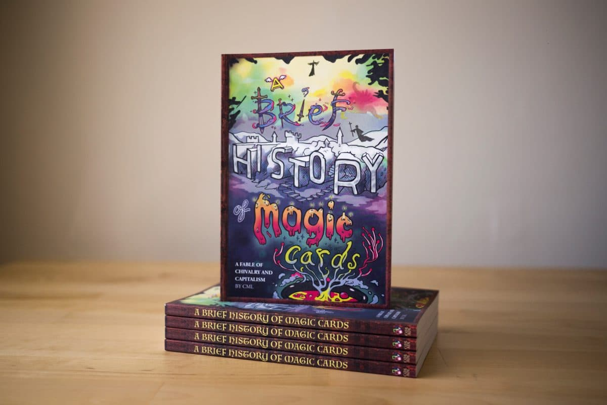 A Brief History of Magic Cards, Etsy Book Printing (It's a Kickstarter, Too!)