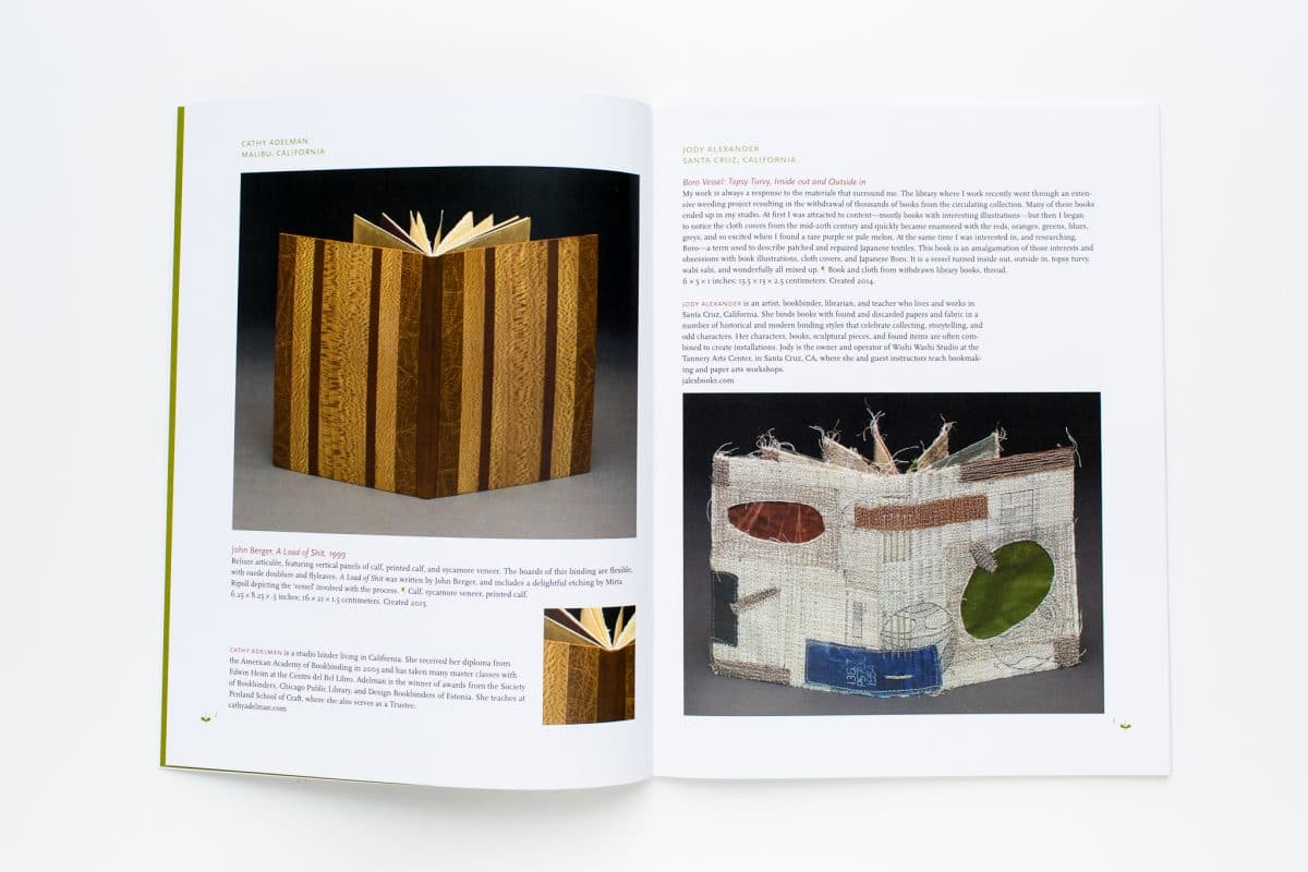 Vessel, Printing an Exhibition Catalog for the Guild of Bookworkers