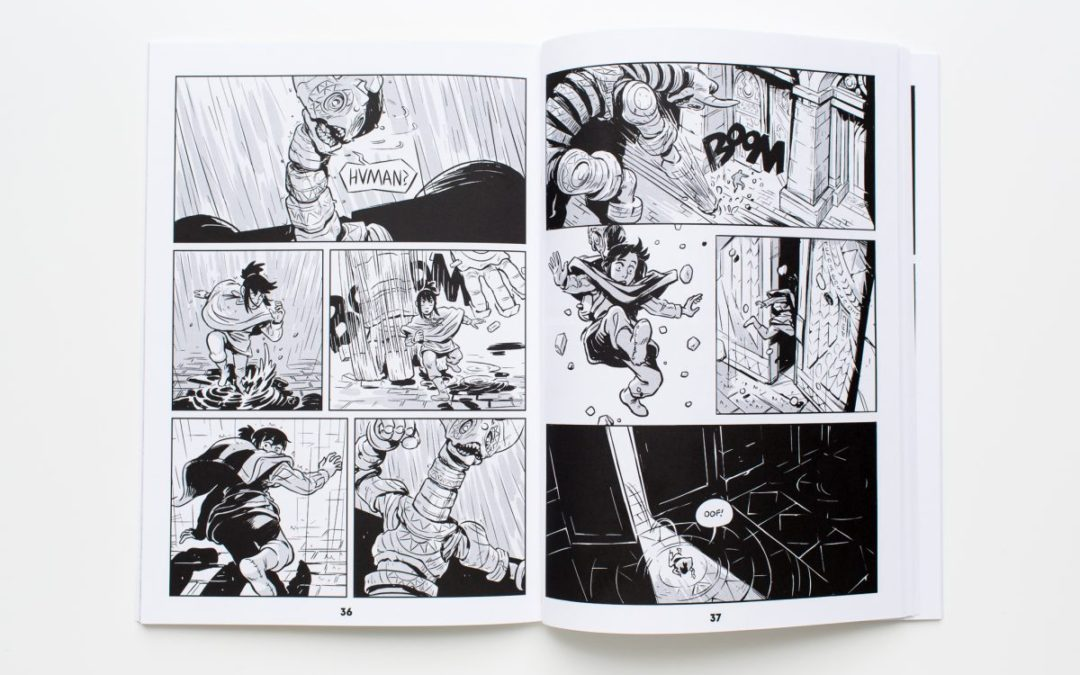 Printing Comics: How to Prep a B&W Comic Book for Printing
