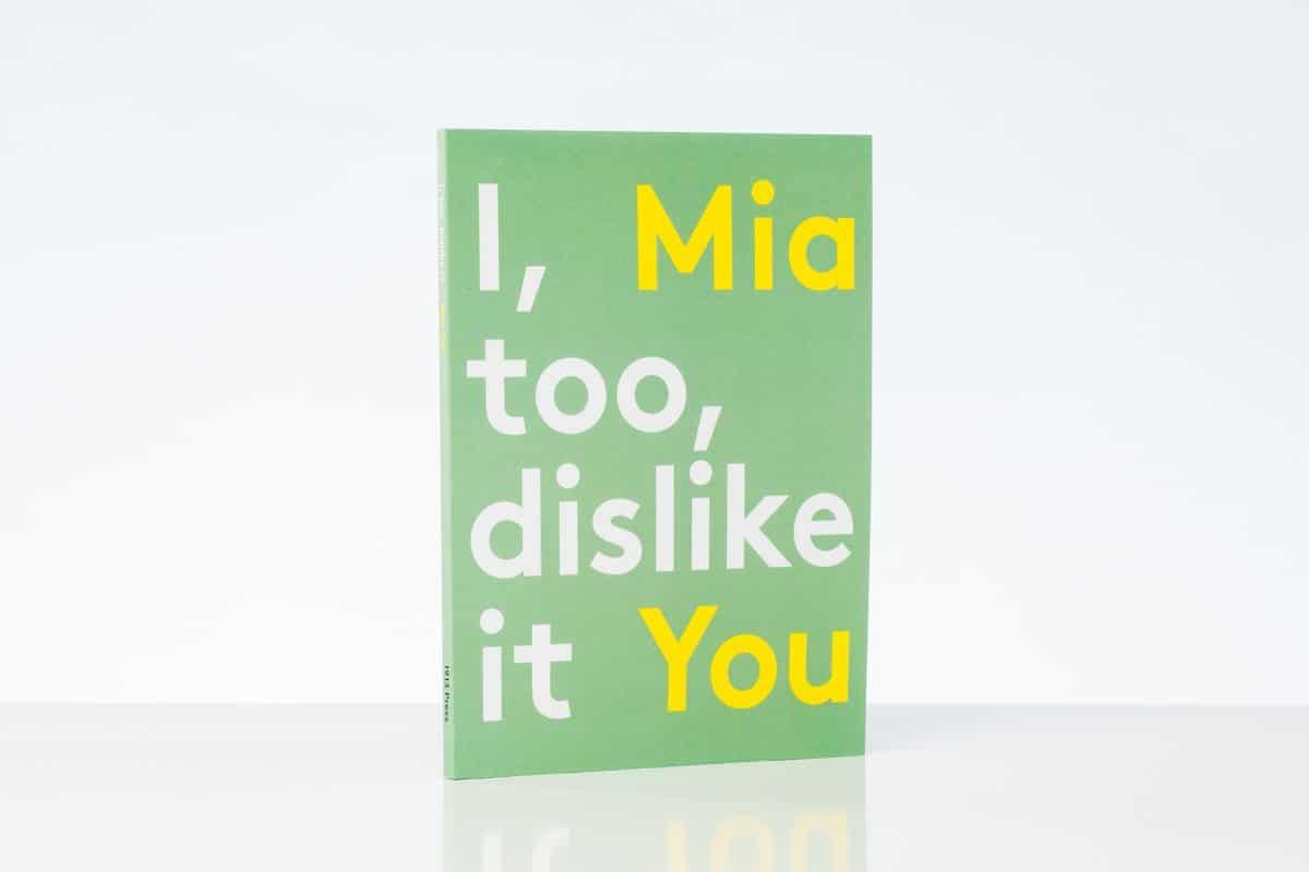 I, Too, Dislike It