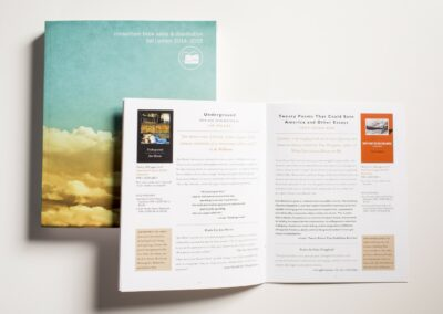 Consortium Book Sales & Distribution and Graywolf Press Seasonal Catalogs