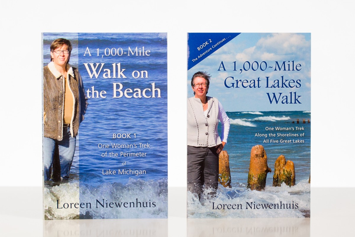 A 1,000 Mile Walk on the Beach and A 1,000 Mile Great Lakes Walk