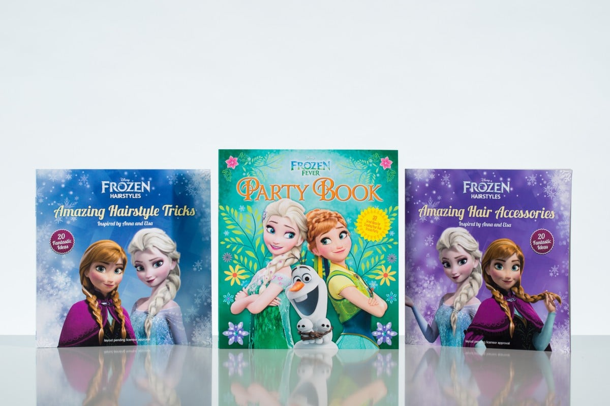 Frozen Fever and Hairstyles Series