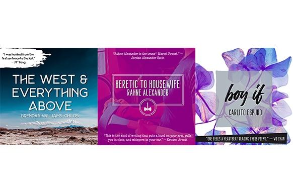 Book Order Fulfillment for Chapbooks: Neon Hemlock Press